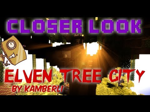 Xxx Mp4 Minecraft Closer Look Elven Tree City Legit Survival Build With Download 3gp Sex