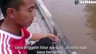 Sketsa Lucu (Mati Lamas) Sungai Langgar Pegatan.