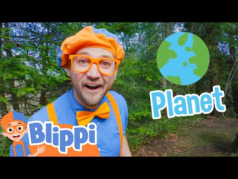 Learning About The Planet With Blippi Educational Videos For Kids