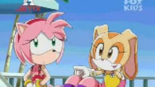 Sonic X -capitulo 9-Panico en el paraiso