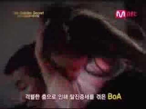 BoA faints