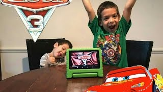 KIDS REACT TO CARS 3 TRAILER