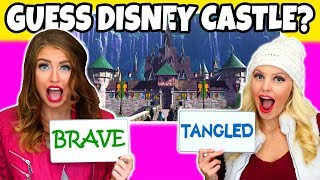 Guess the Disney Movie Castle Castle. (Is it Brave, Tangled or Frozen?) Totally TV