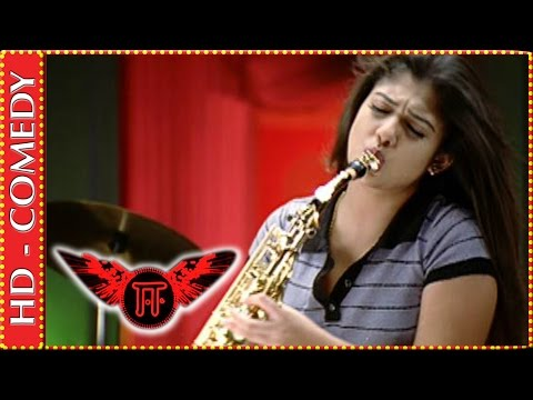 Nayathara practicing Palinginaal Oru using sax | Ee Tamil Movie | Comedy Scene