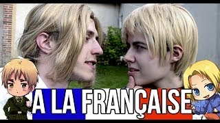 A la française - Hetalia Live cosplay