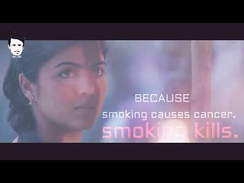 Smoking causes cancer| girls is injurious to health | whatsapp status |