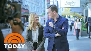 Laura Linney Talks 'Love Actually' Reunion, Dealing With Stage Fright | TODAY