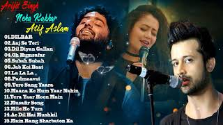 The Best Of Arijit Singh & Neha Kakkar Songs & Atif Aslam 2018 - Romantic Hindi Songs 2018 | Jukebox