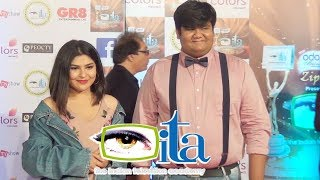 Needhi Bhanushali & Kush Shah At ITA Awards 2017 | 17th Indian Television Academy Awards
