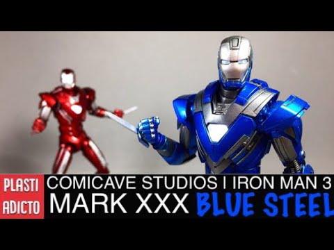 Xxx Mp4 COMICAVE STUDIOS • Iron Man BLUE STEEL Mark XXX Video Review En Español 3gp Sex