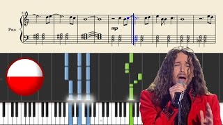 Michal Szpak - Color Of Your Life (POLAND)   Piano Tutorial