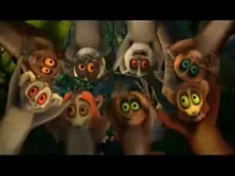 Madagaszkár Riszálom úgyis úgyis klip
