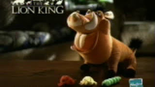 the Lion King Talking Pumba doll Commercial