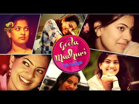 Geetha Madhuri Best Telugu Songs | Video Jukebox
