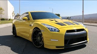 A DAY WITH AN R35 GTR! Funny 0-60 Reactions!