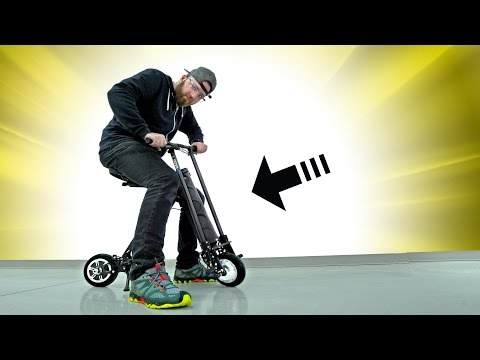 World's Smallest Electric Scooter