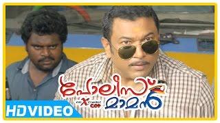 Poilce Maman Malayalam Movie | Scenes | Vinayakan and goons attack Baburaj | Indranse | Dhandapani