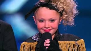 America's Got Talent 2015 Season 10 - Auditions - Elin and Noah