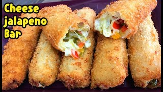 Cheese And Jalapeño Rolls / First Ever On Youtube By Yasmin's Cooking Ramadan Recipes