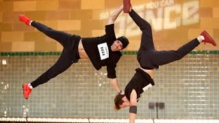 Amazing Swiss BBoy brothers audition for sytycd 2015