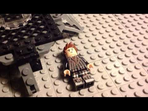 LEGO Doc Brown vs Doctor Who. Epic Rap Battles of History