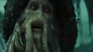 Will Turner and Davy Jones death.
