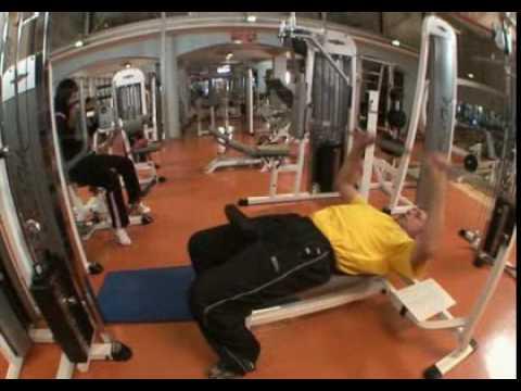Skrita kamera v fitnesu