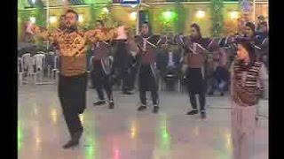 رقص عربي لفرقة الوتار للرقص والعراضة الحلبية لوحة من الترلث الحلبي الاصيل سوريا حلب فرقة الوتار