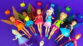 DISNEY PIRATE FAIRIES PIXIE GEM COLLECTION ❤ PIXIE TINKER BELL TINK SILVERMIST PERWINKLE IREDESSA
