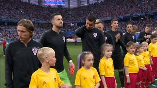 FIFA WORLD CUP 2018 : NATIONAL ANTHEM CROATIA VS ARGENTINA WORLD CUP 2018
