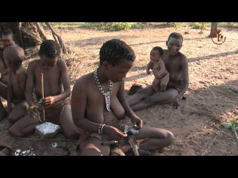 Namibia erleben Teil 9 Das lebende Museum der Ju `Hoansi San