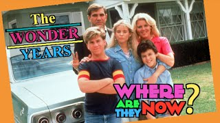 What happened to the cast of the Wonder Years