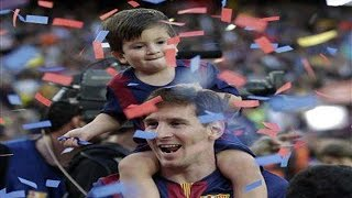 Leo and Thiago Messi ● Father and Son ● HD