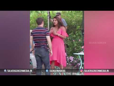 Leaked Video Of Priyanka Chopra & Adam DeVine On The Sets Of 'Isn't It Romantic?'   Silver Screen