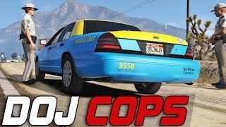 Dept. of Justice Cops #231 - Crazy Taxi (Criminal)