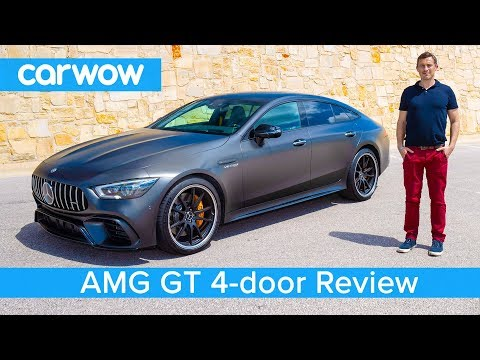 New Mercedes AMG GT 4 door Coupe 2019 REVIEW see if it s quicker than an E63 S over a 1 4 mile