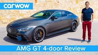New Mercedes-AMG GT 4-door Coupe 2019 REVIEW - see if it