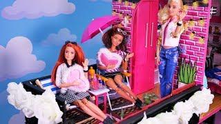 Bajka Barbie 💜 Nowy dom Kamili i Jessici 💜 Różowa sypialnia 💜 Bajka po polsku z lalkami 4K