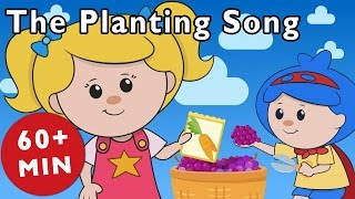 The Planting Song and More | Nursery Rhymes from Mother Goose Club!
