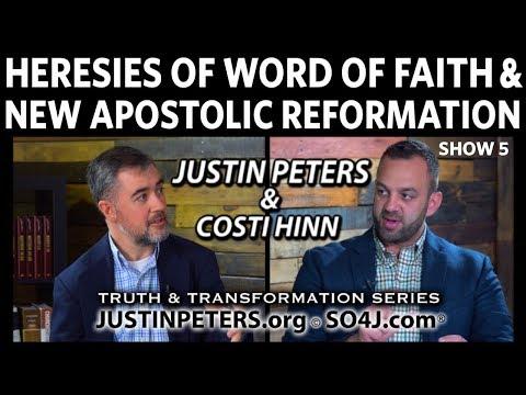 Heresies of Word of Faith & New Apostolic Reformation Costi Hinn & Justin Peters SO4J TV Show 5