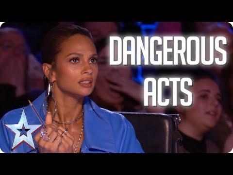 MOST DANGEROUS ACTS   Britain's Got Talent 2018