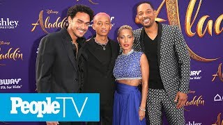 Will Smith's Entire Family Joins Him At The 'Aladdin' Premiere   PeopleTV
