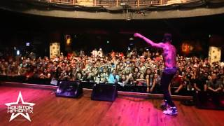 Kid Ink Performs Show Me & Main Chick ft Chris Brown Live in Houston