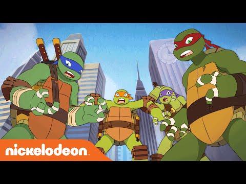 TMNT | Turtles Meet Turtles: The Trans-Dimensional Remix | Nick