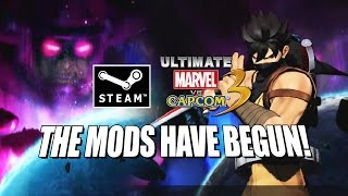 THE MODS HAVE BEGUN: PC/Steam Ranked - Ultimate Marvel Vs. Capcom 3