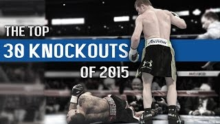 Top 30 Knockouts of 2015 | GP