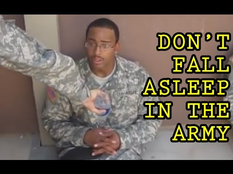 Don t Fall Asleep in the Army