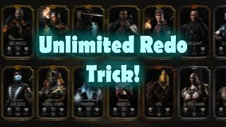 Unlimited Redo Trick! Mortal Kombat X (MKX) IOS/Android