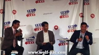 Politicon: Cenk Uygur & Dinesh D'Souza Debate- Wolf-Pac