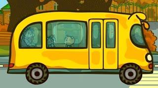 Wheels On The Bus Nursery rhyme for children - Three Kittens - Songs for kids